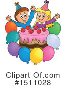 Birthday Clipart #1511028 by visekart