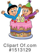 Birthday Clipart #1513129 by visekart