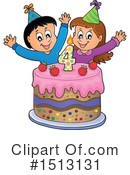 Birthday Clipart #1513131 by visekart