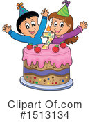 Birthday Clipart #1513134 by visekart