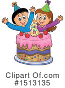 Birthday Clipart #1513135 by visekart