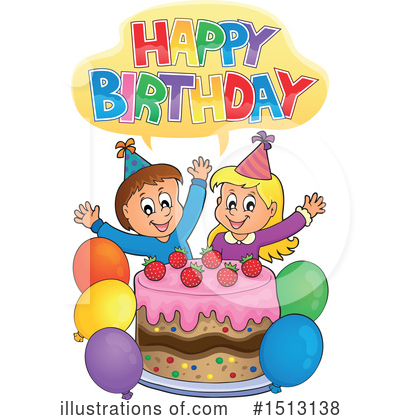 Birthday Cake Clipart #1513138 by visekart
