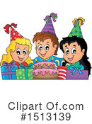 Birthday Clipart #1513139 by visekart