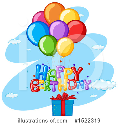 Balloons Clipart #1522319 by Graphics RF