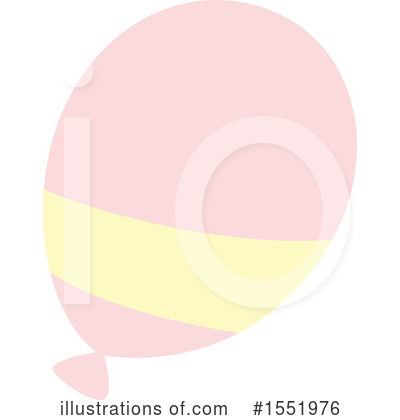 Balloon Clipart #1551976 by Cherie Reve