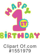 Birthday Clipart #1551979 by Cherie Reve