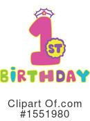 Birthday Clipart #1551980 by Cherie Reve