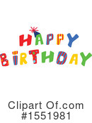 Birthday Clipart #1551981 by Cherie Reve