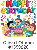Birthday Clipart #1559226 by visekart