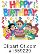 Birthday Clipart #1559229 by visekart