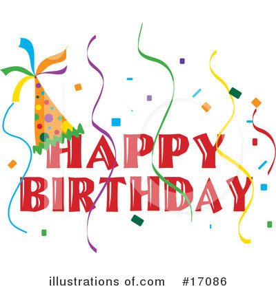 Happy Birthday Clipart #17086 by Maria Bell
