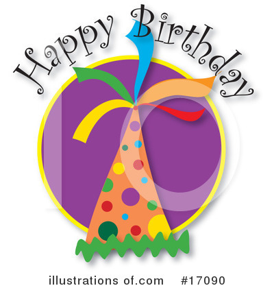 Happy Birthday Clipart #17090 by Maria Bell