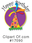 Birthday Clipart #17090 by Maria Bell