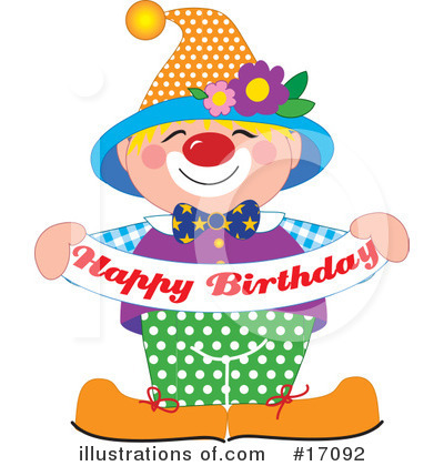 Happy Birthday Clipart #17092 by Maria Bell
