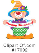 Birthday Clipart #17092 by Maria Bell