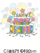 Birthday Clipart #1714460 by Alex Bannykh