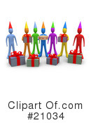 Royalty-Free (RF) birthday Clipart Illustration #21034