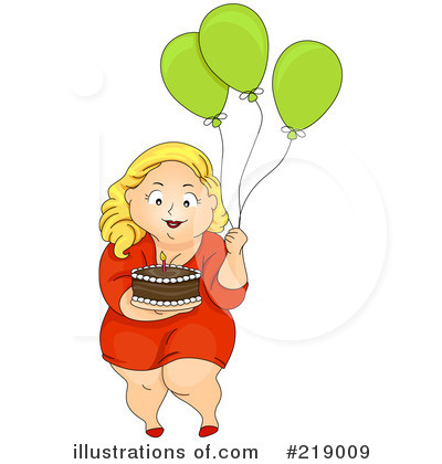 Party Balloons Clipart #219009 by BNP Design Studio