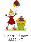 Birthday Clipart #226147 by BNP Design Studio