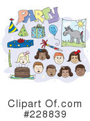 Birthday Clipart #228839 by inkgraphics