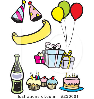Celebrating Clipart #230001 by xunantunich