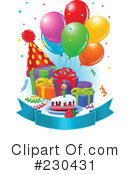 Royalty-Free (RF) Birthday Clipart Illustration #230431