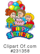 Birthday Clipart #231358 by visekart