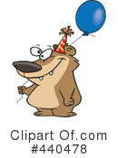 Birthday Clipart #440478 by toonaday