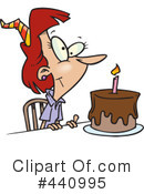 Birthday Clipart #440995 by toonaday