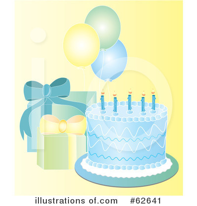 Birthday Cake Clipart #62641 by Pams Clipart