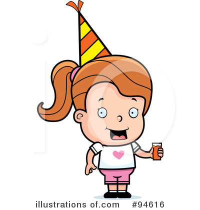 Birthday Girl Clipart #94616 by Cory Thoman
