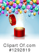 Birthday Gift Clipart #1292819 by KJ Pargeter