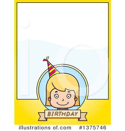 Birthday Girl Clipart #1375746 by Cory Thoman