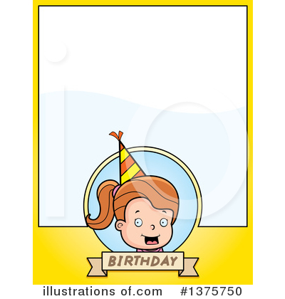 Birthday Girl Clipart #1375750 by Cory Thoman