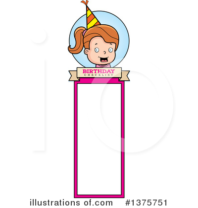 Birthday Girl Clipart #1375751 by Cory Thoman