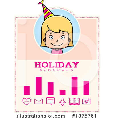 Birthday Girl Clipart #1375761 by Cory Thoman