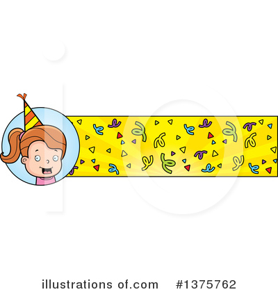 Birthday Girl Clipart #1375762 by Cory Thoman