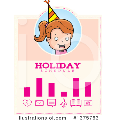 Birthday Girl Clipart #1375763 by Cory Thoman