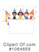 Birthday Party Clipart #1064659 by BNP Design Studio