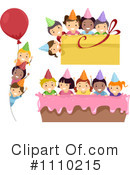 Birthday Party Clipart #1110215 by BNP Design Studio
