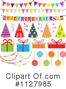 Royalty-Free (RF) Birthday Party Clipart Illustration #1127985