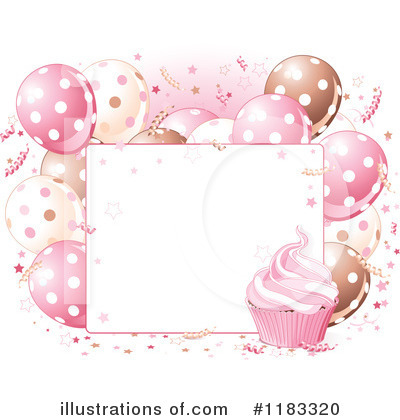 Party Balloons Clipart #1183320 by Pushkin