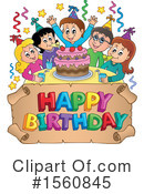 Birthday Party Clipart #1560845 by visekart