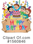 Birthday Party Clipart #1560846 by visekart