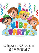 Birthday Party Clipart #1560847 by visekart