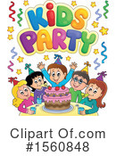 Birthday Party Clipart #1560848 by visekart