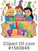 Birthday Party Clipart #1560849 by visekart