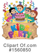 Birthday Party Clipart #1560850 by visekart