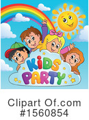 Birthday Party Clipart #1560854 by visekart