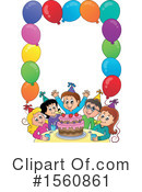 Birthday Party Clipart #1560861 by visekart